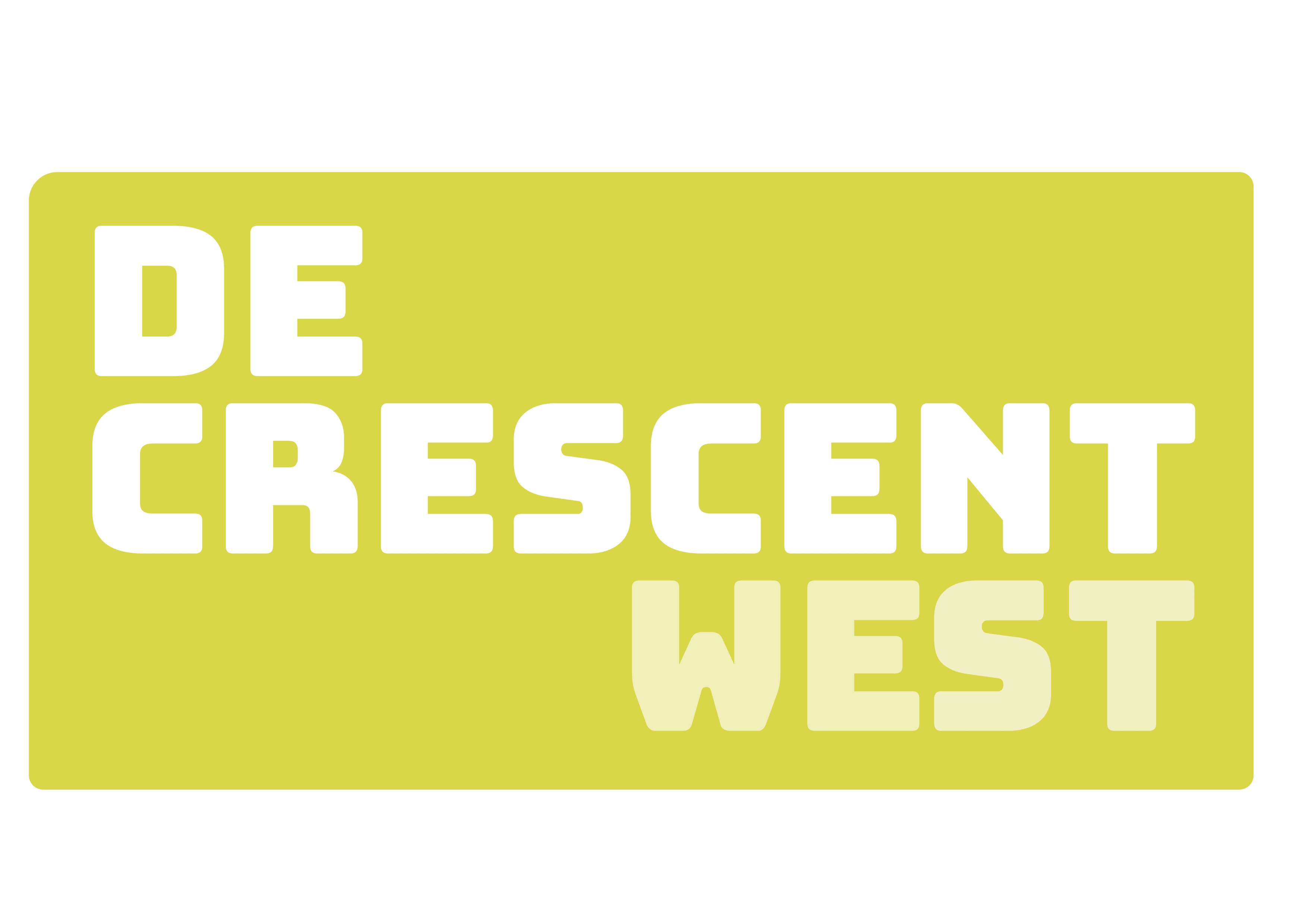 Logo De Crescent West